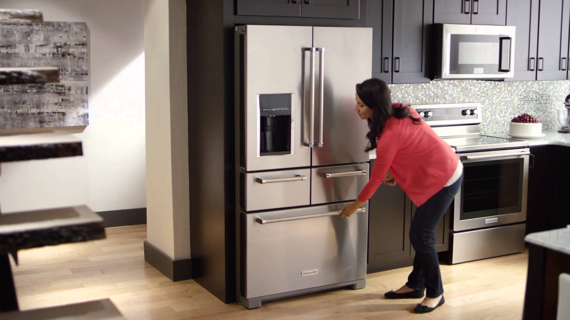 Kitchen Aid Refrigerator | Kitchenaid Major Appliances Design Inspiration Architecture